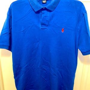 Royal/Orange Ralph Lauren Polo Shirt